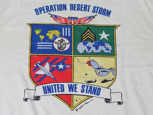 Vintage Desert Storm tee dated 1991