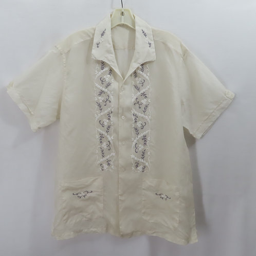 Vintage Embroidered Shirt Walkover Philippines Sz L