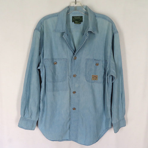 Vintage blue chambray work shirt by Ralph Lauren Country