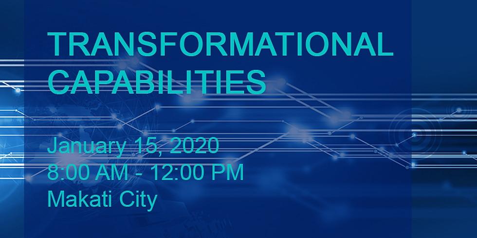 Transformational Capabilities