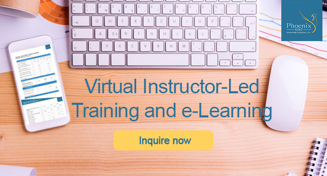 Learn from home with Virtual Instructor-Led Training and e-Learning from Phoenix One