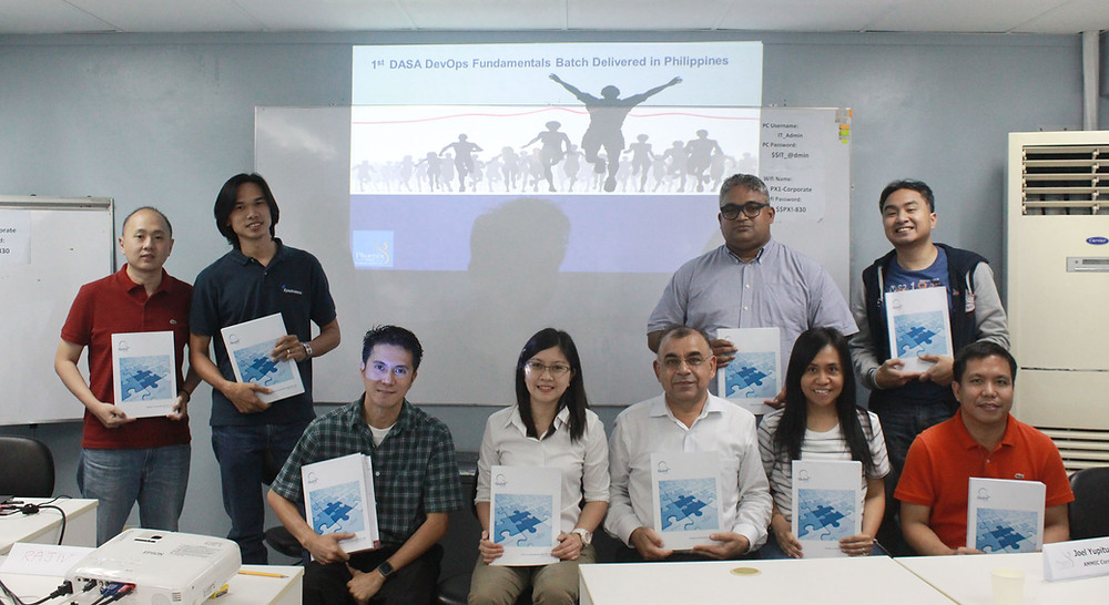 First DASA DevOps Fundamentals Training in the Philippines - Phoenix One