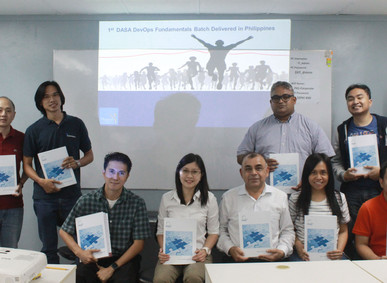 Phoenix One delivers its first-ever DASA DevOps Fundamentals training in the Philippines