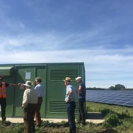 Orchard Solar Farm visit
