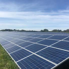 Solar panels (Orchard Energy Iwade)
