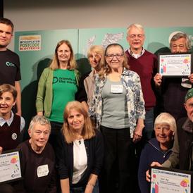 Earthmovers Award group photo 2019