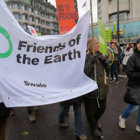 Climate March London 2015