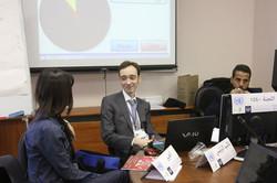 Arabic MUN Committee presidium Moscow International MUN 2016