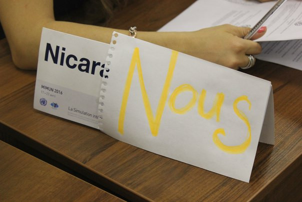 French Model United Nations Nicar
