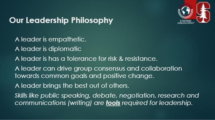 leadership model un
