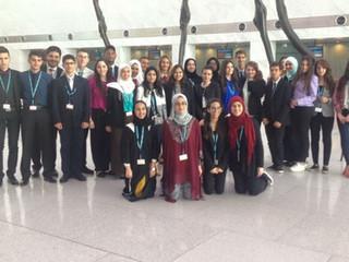 قصة نجاح في قطر - سفيرتنا، سلمي خالد Success Story in Qatar! Our Arabic MUN Ambassador, Salma Khaled
