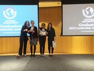 Success Story from the UAE - MUN Academy  Graduate - Tanya Wijesuriya