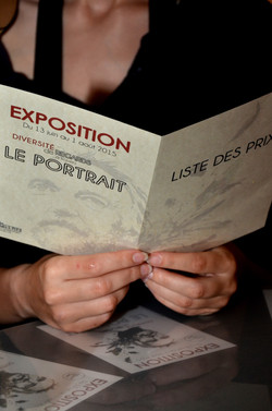 Vernissage Expo PORTRAIT ARTISALIE