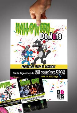 Flyers Halloween DoNuts