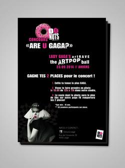 Affiche Concours GAGA