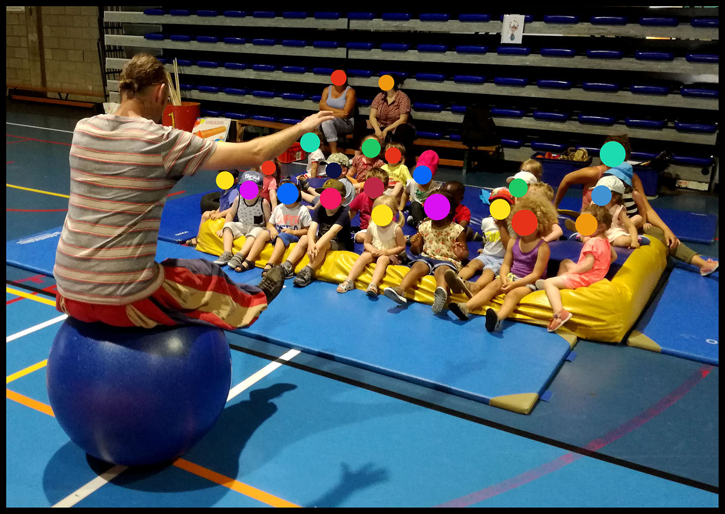 Animations-Ateliers - Cirque - Spectacle - Jongle - Cirque - Liege