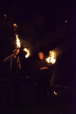 Jonglerie feu - liege - Nandrin - Artisa