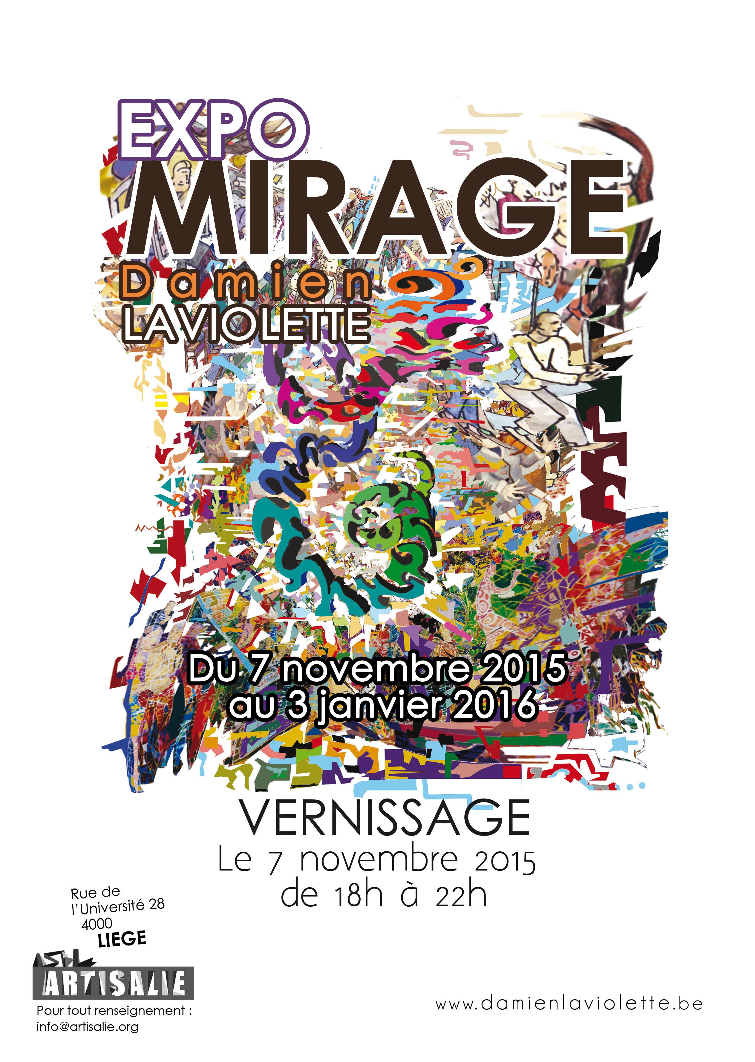 Communication d'exposition Liège