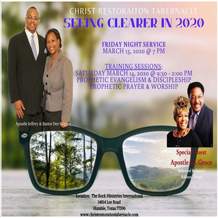Seeing Clearer in 2020
