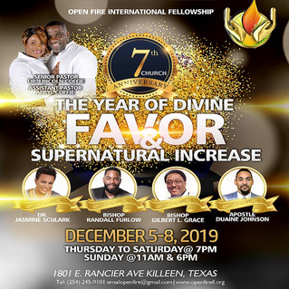 The Year of Divine Favor
