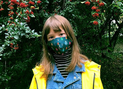 Masque tissu adulte, ado et enfant insecte