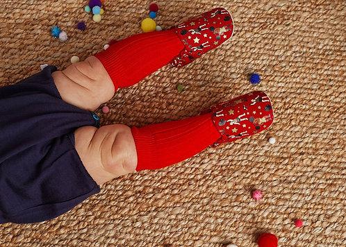cadeaux naissance chaussons pour bébé strongman poconido rennes