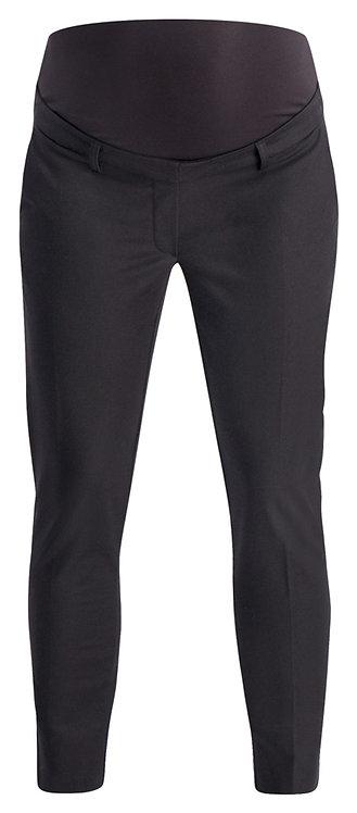 pantalon chino grossesse noir 7/8 ème