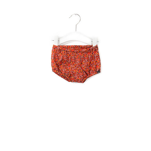 Bloomer bébé vintage love red