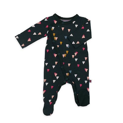 Pyjama bébé à pieds coton bio party