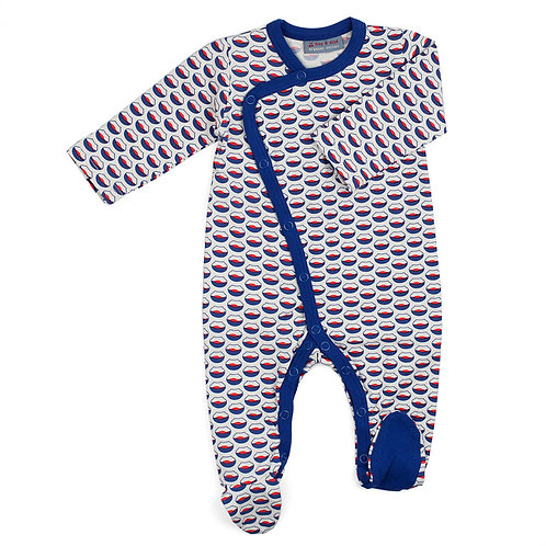 Pyjama pour bébé coton bio Fish bowl
