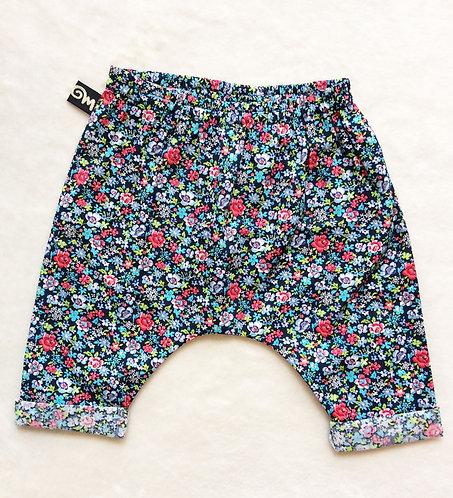 Pantalon pour bébé sarouel flowers