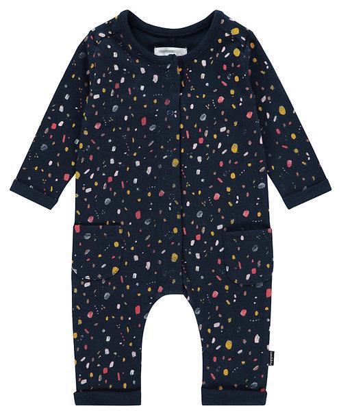 Pyjama bébé coton bio motifs graphiques