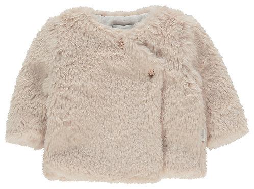 Gilet veste bébé ourson blush