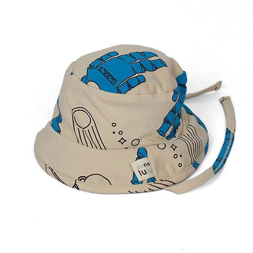 Chapeau pour bébé coton biologique astronautes