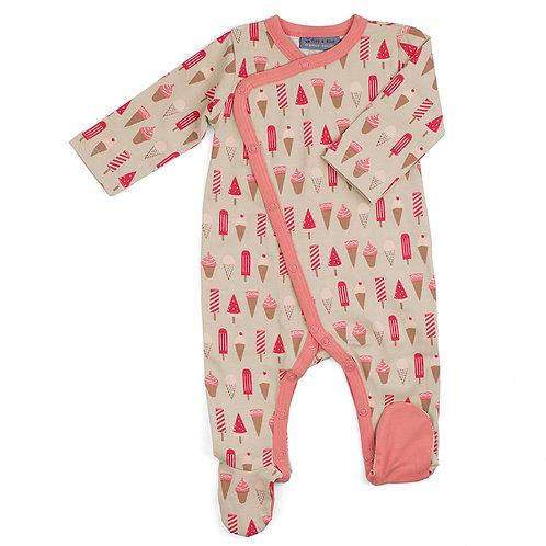 Pyjama pour bébé à pieds ice cream Froy and Dind