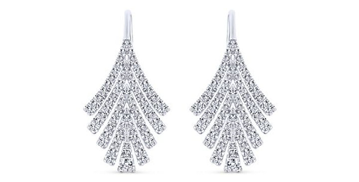 Gabriel & Co.- Dazzle Diamond Dangle Earrings