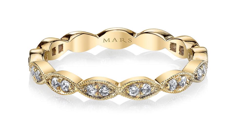 MARS Fine Jewelry - Milgrain Infinity Band