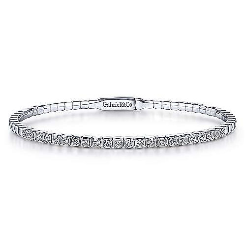 Gabriel & Co.- Straight Diamond Bangle