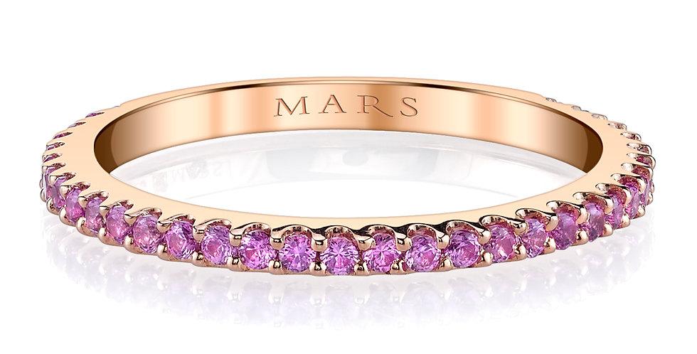 MARS Fine Jewelry - Pink Sapphire Eternity Band