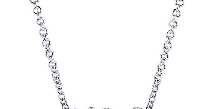 Gabriel & Co. - XOX Diamond Necklace