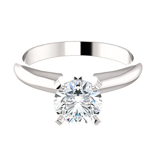 DFJ - Classic Four Prong Solitaire