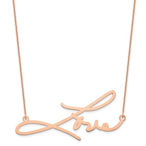 Signature Plate Necklace