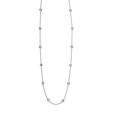 Diamond Station Necklace - 5s