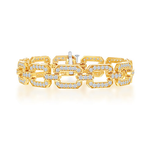 Jewels by Jacob Diamond Link Bracelet