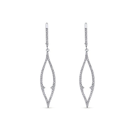 Gabriel & Co.- Tear Drop Diamond Earrings