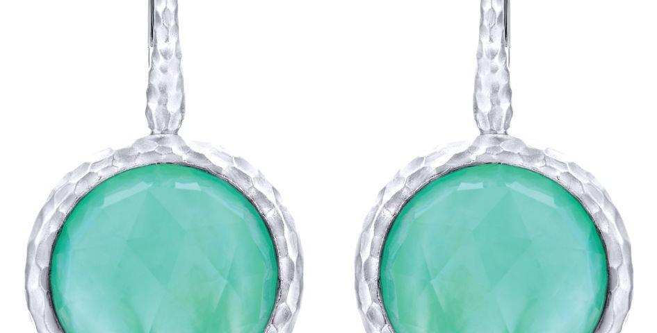 Gabriel & Co.- Mother of Pearl Dangle Earrings
