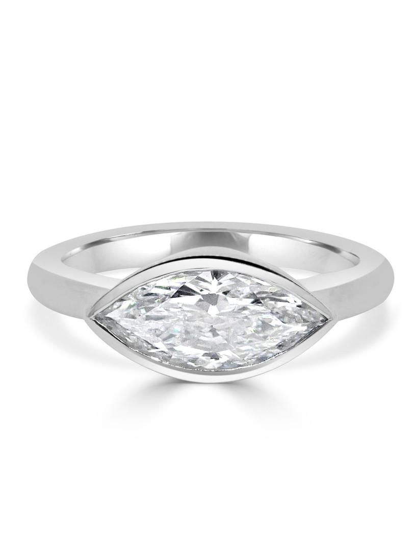 Side Ways Marquire Diamond Ring.JPG