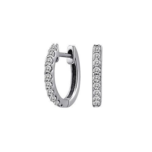 Beny Sofer - Diamond Huggie Earrings