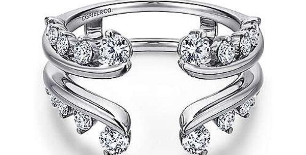 Gabriel & Co - Diamond Ring Enhancer