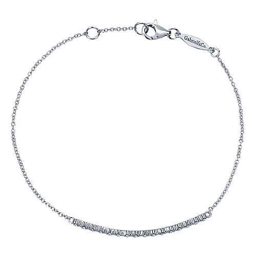 Gabriel & Co.- Diamond Bar Chain Bracelet